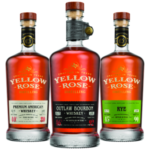 Yellow Rose Whiskey - Crafted in Texas