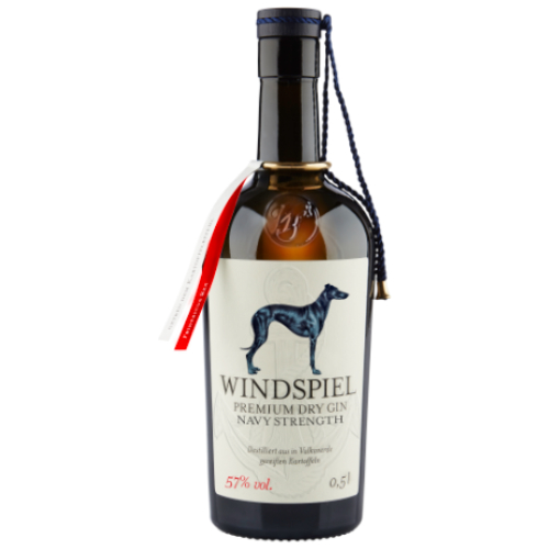 Windspiel Premium Dry Gin Navy Strength 57% 0,5l