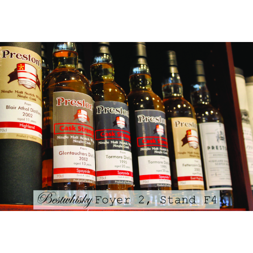 Preston's Exclusive Single Casks